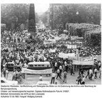 Demonstration des AStA 1968 auf dem Luisenplatz