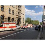 Busunfall Friedrichstraße