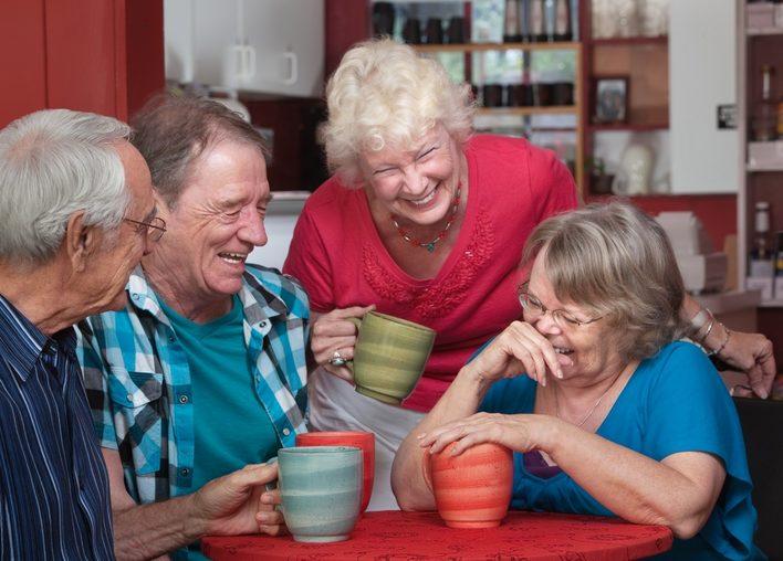 Senior mit 70 plus Dating-Dienst für geistig Behinderte