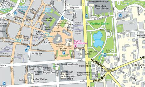 Wiesbaden.De Stadtplan