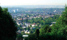 Panoramic view of Wiesbaden