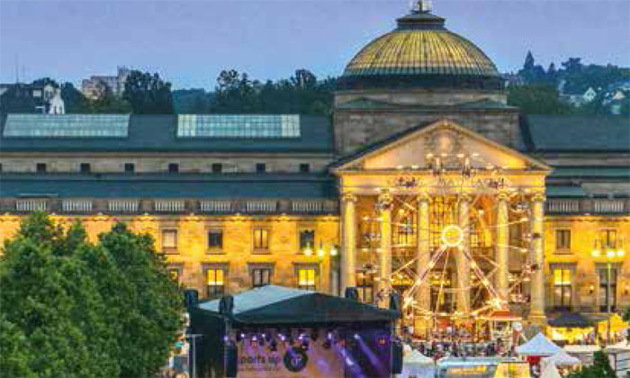 Good reasons to visit Wiesbaden.