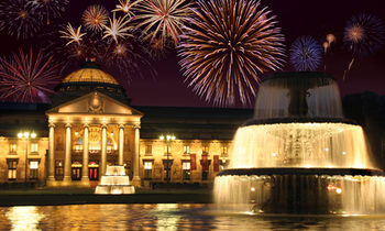New Year's Eve at the Kurhaus