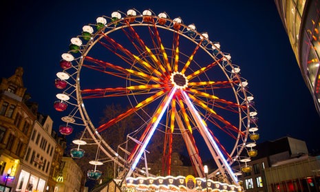 The Wiesbaden Ferris wheel