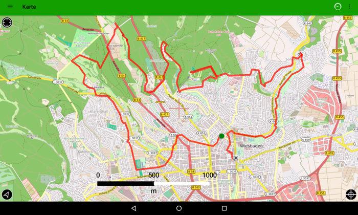 Wiesbaden Karte.Radachter Wiesbaden Landeshauptstadt Wiesbaden