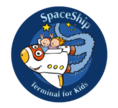 Icon/Logo Space Ship for Kids